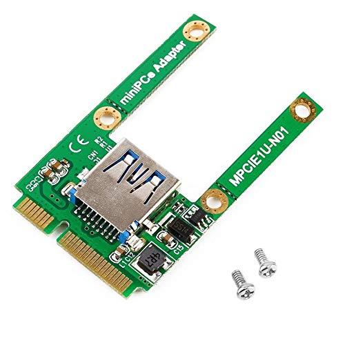BGNing WiFi to NGFF Key 6Pin Card BCM94360CD BCM94360CS2 BCM943224PCIEBT2 12+6 Pin Bluetooth WiFi Wireless Card Module to M.2 NGFF Key B+M Adapter for Mac OS