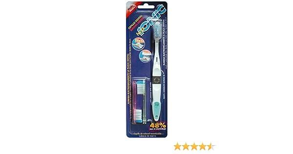 hyg IONIC Cepillo Dental Electrónico Medio con 2 Recambios: Amazon.es: Salud y cuidado personal