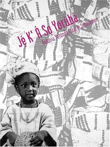 Je K`A So Yoruba