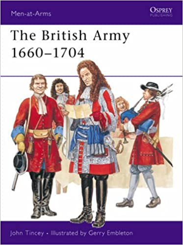 Book The British Army 1660-1704 (Men-at-Arms)