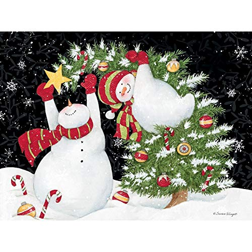 - Decorating is Fun Classic Christmas Cards, by Lang Companies