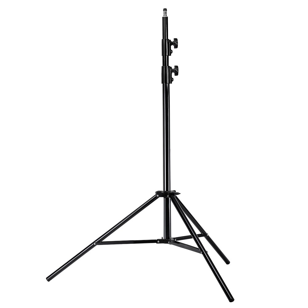 Neewer Photo Studio Pro 9 feet/260 centimetres Aluminum Alloy Light Stand and Heavy Duty Metal Clamp Holder for Reflectors for Photo Video Portrait Photography by Neewer (Image #4)