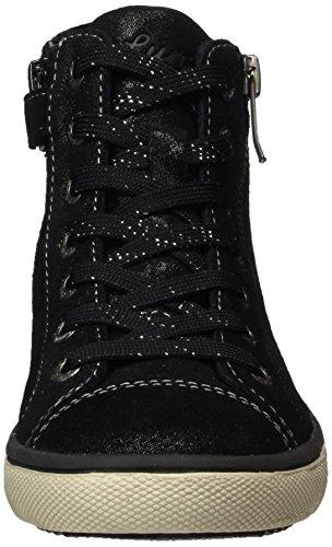 Lurchi Mädchen Sassi-Tex Hohe Sneaker Schwarz (Black)
