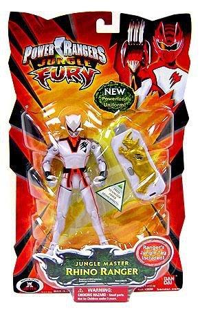 (Power Rangers Jungle Fury Action Figure Jungle Master Rhino Ranger)