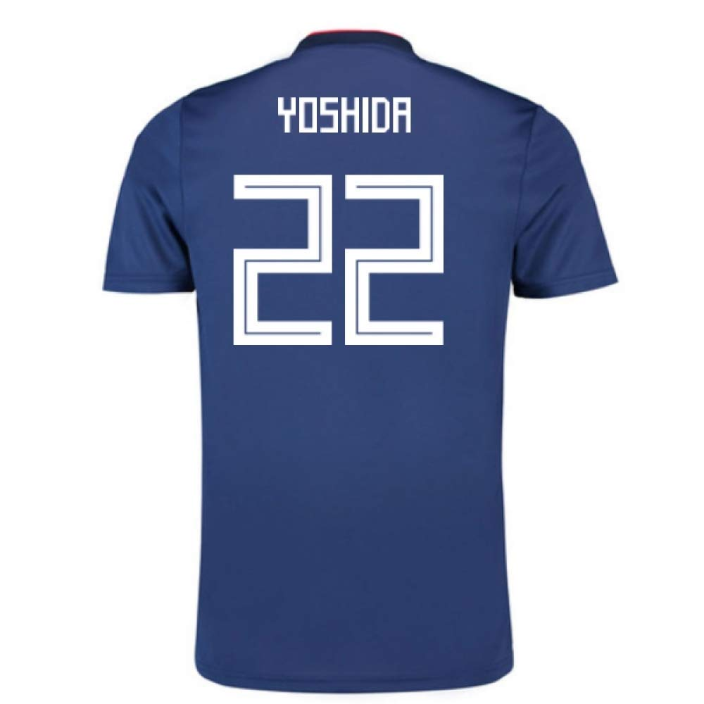 2018-19 Japan Home Football Soccer T-Shirt Trikot (Maya Yoshida 22) - Kids