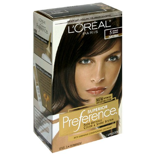 Conditioning Colorant - Superior Preference Rich Luminous Conditioning Colorant, Level 3 Permanent, Medium Brown/Natural 5 (Pack of 3)