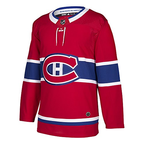 Canadiens Hockey Montreal Jersey (Montreal Canadiens Adidas NHL Men's Climalite Authentic Team Hockey Jersey)