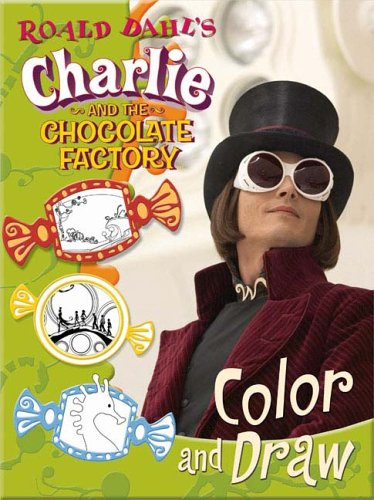 Amazon Com Roald Dahl S Charlie And The Chocolate Factory Color And Draw Charlie The Chocolate Factory 9780843116366 Dahl Roald Books
