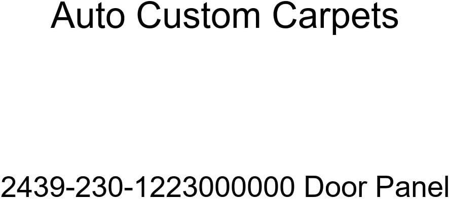 Auto Custom Carpets 2439-230-1223000000 Door Panel