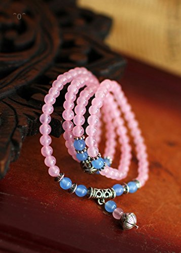 New pollen of Manglietia yuyuanensis multilayer Bracelet Crystal Candy-colored ladies player series Korean version original ()