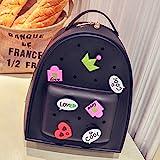 Gprince Silicone Beach Pool Waterproof Bag Cute Sweet Cartoon School Backpack Tote Bag for Girl