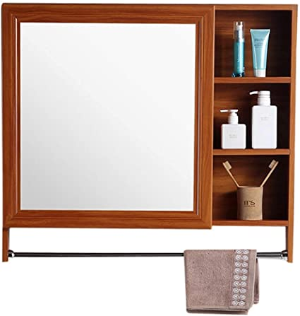 Amazon Com Qazxsw Mirror Cabinets Aluminum Wall Mounted Bathroom Storage Cabinet Multi Layer Storage Vanity Mirror Wall Mounted Wall Mirror Sports Outdoors