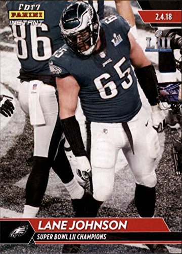 2018 Panini Eagles Super Bowl LII #533 Lane Johnson NFL Football Trading Card