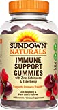 Sundown Naturals Immune Support w/Elderberry, 60 Gummies