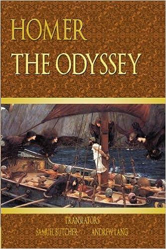 The Odyssey Homer Samuel Butcher Andrew Lang 9781440442452