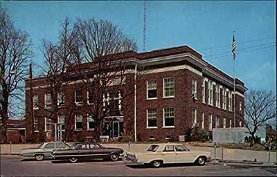 Marshall County Court House Benton, Kentucky Original Vintage Postcard