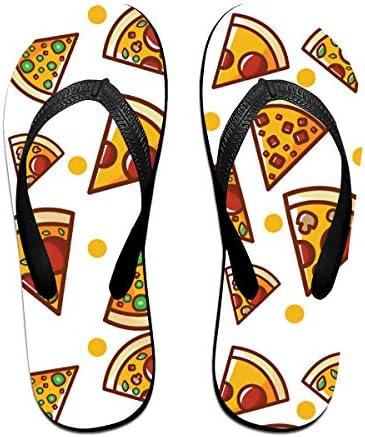ビーチシューズ ピザ柄 ビーチサンダル 島ぞうり 夏 サンダル ベランダ 痛くない 滑り止め カジュアル シンプル おしゃれ 柔らかい 軽量 人気 室内履き アウトドア 海 プール リゾート ユニセックス