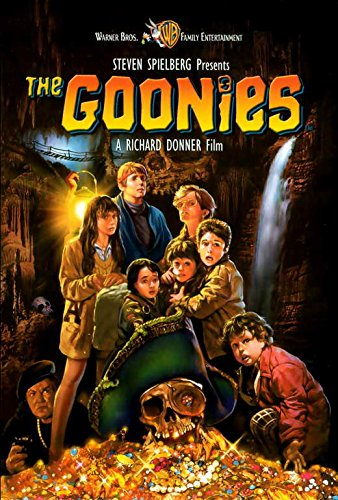 The Goonies Movie POSTER 27 x 40, Sean Astin, Josh Brolin, C, MADE IN THE U.S.A.