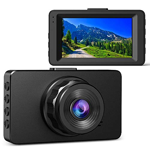 Dash Cam, Ssontong Dash Camera for Cars 1080p FHD 170° Wide Angle, 3″ LCD, Motion Sensor, Loop Recording, WDR and High Definition Infrared Night Vision