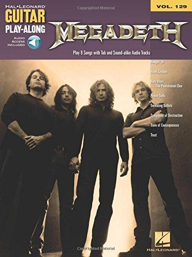 Megadeth: Guitar Play-Along Volume ()
