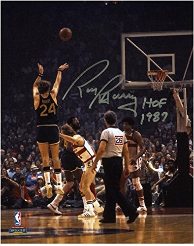 Rick Barry Golden State Warriors Autographed 8