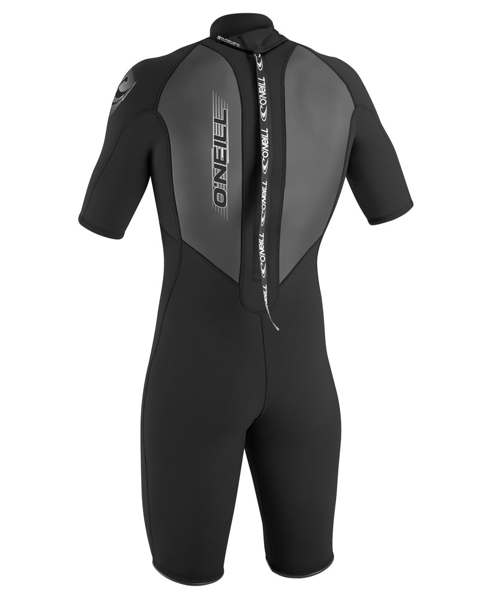 O'Neill Men's Reactor 2mm Back Zip Spring Wetsuit, Black, XX-Large by O'Neill Wetsuits (Image #3)