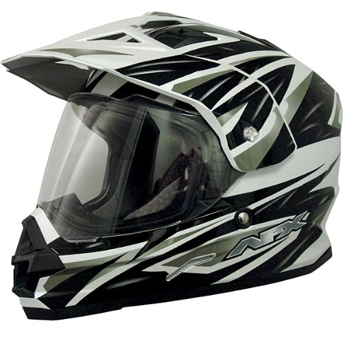 AFX FX-39DS Dual Sport Strike Full-face Street Helmet Black 2XL