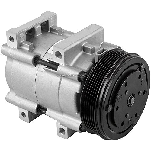AC Compressor & A/C Clutch For Ford F150 F250 Thunderbird Mustang Windstar Bronco Taurus Mercury Sable Cougar - BuyAutoParts 60-01255NA - Ford Clutch Taurus