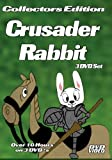 CRUSADER RABBIT-3 DVD SET-OVER 10 HOURS-WITH DVD MENUS