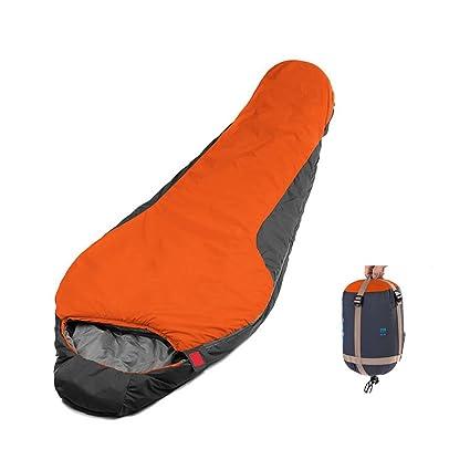 CAMTOA® Saco de dormir ultra-ligero para 3estaciones (paraviento, impermeable