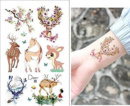 Niños Tatuajes 6 láminas Animales Tatuajes Party Tatuajes Fiesta ...