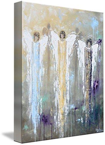 Wall Art Print entitled Angels Of Grace by Christine Krainock | 36 x 46 by Imagekind