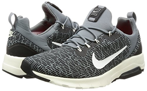 001 Grey Sail Ginnastica black Max Uomo Multicolore Scarpe Cool Da Racer Air Motion Nike aq7vwFOn