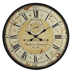 Aspire Simona Round Wall Clock, Green