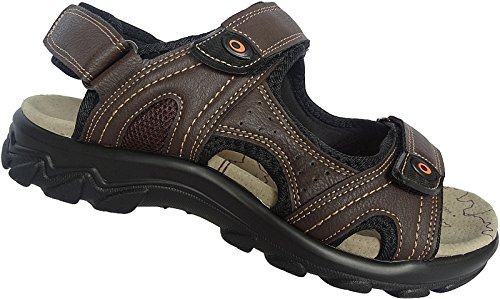 Sapatos 40 Tamanho 46 17997 Sandalette Outdoorsandale Castanho Sandália Homens nr Raquetes Art CB5YBq