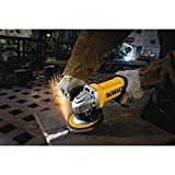 DEWALT 11-Amp Angle Grinder Paddle Grounded