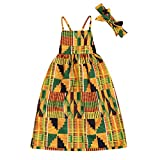 YOUNGER TREE African Baby Clothes Girl Dashiki