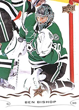 2018-19 Upper Deck  60 Ben Bishop Dallas Stars NHL Hockey Trading Card e0dc53c47
