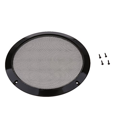 MagiDeal 8 Inch Speaker Grills Cover Case with 4 pcs Screws