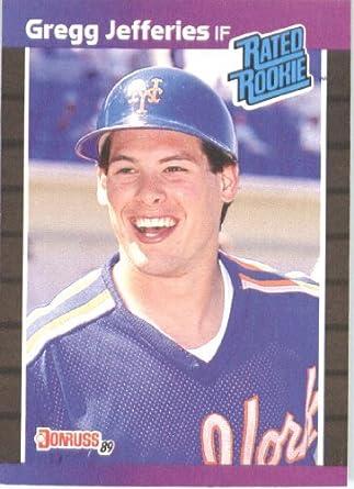 Amazoncom 1989 Donruss Baseball Card 35 Gregg Jefferies