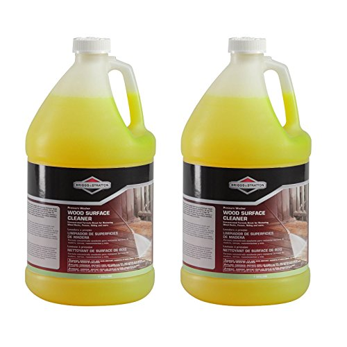 Deck Solution (Briggs & Stratton Pressure Washer Wood Surface Cleaner, 1 Gal (2 Pack) 6827)