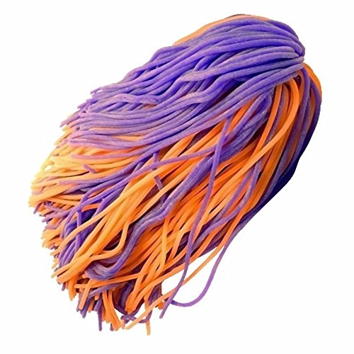 (1) Mondo Spaghetti Ball Sensory Fidget Toy Occupational Therapy Stress Relief (orange/purple (Spaghetti Ball)