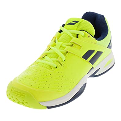 66a598187e860 Babolat Propulse all court jr jne - Chaussures tennis - Jaune fluorescent -  Taille 34