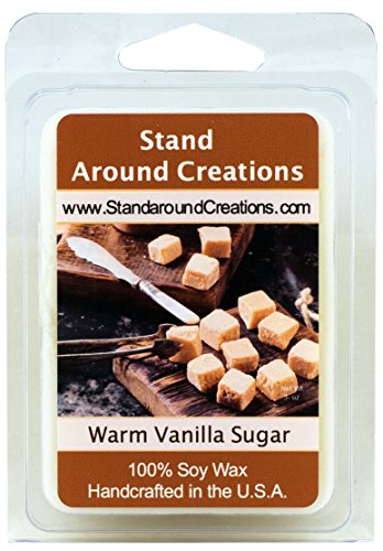 100% All Natural Soy Wax Melt Tart - Warm Vanilla Sugar: War
