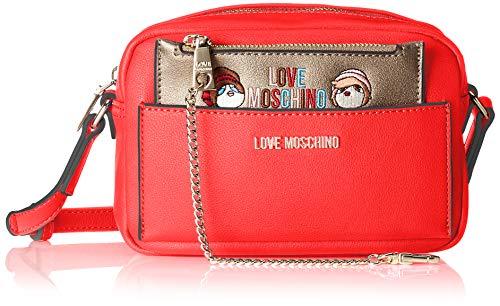 Spalla Rosso Donna Borsa A Borse Love Moschino Pu SO1AAT