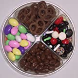 Scott's Cakes 4-Pack Jordan Almonds, Chocolate Pretzels, Licorice Mix, & Chocolate Raisins