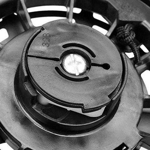 Evokem Lawn Mower Recoil Starter Kit, Briggs Stratton Engine Recoil Pull Cord Starter Assembly CDI 497680 Toro Lawnmowe (black)