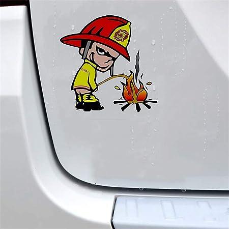 Autocollant De Voiture Stickers Autocollant De Voiture De Pompier