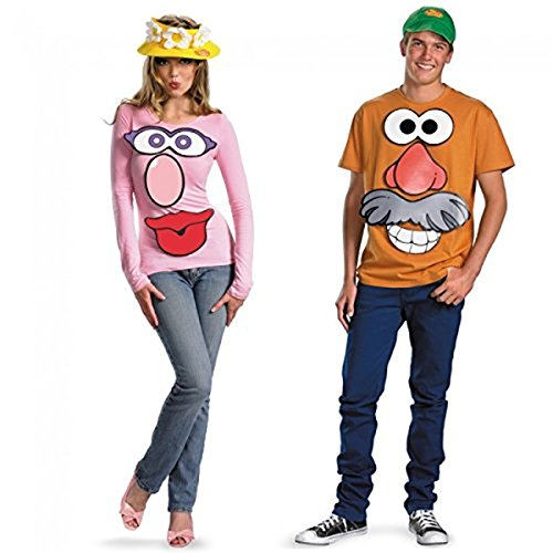 Mr. and Mrs. Potato Head Kit Costume -