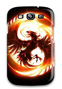 High-quality Durability Case For Galaxy S3(fenix In Fire)